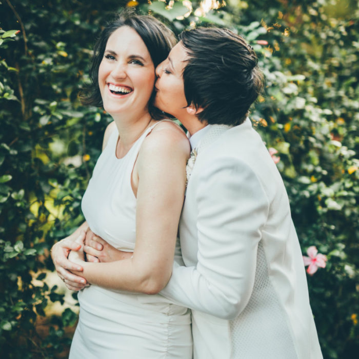 Jami + Liz // Marie Selby Botanical Gardens // Central Florida Creative Wedding Photographers