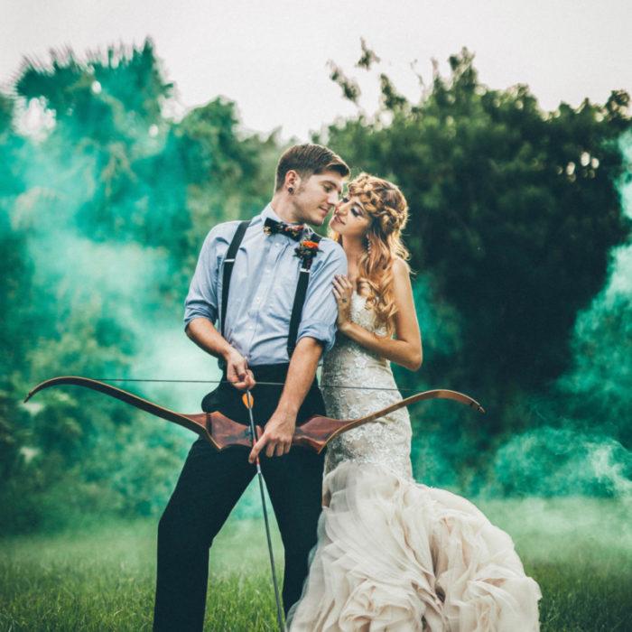 Hunger Games Styled Shoot // Banyan Estate // Creative Orlando Wedding Photographer